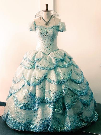 Wicked Uk Tour Glinda Costume